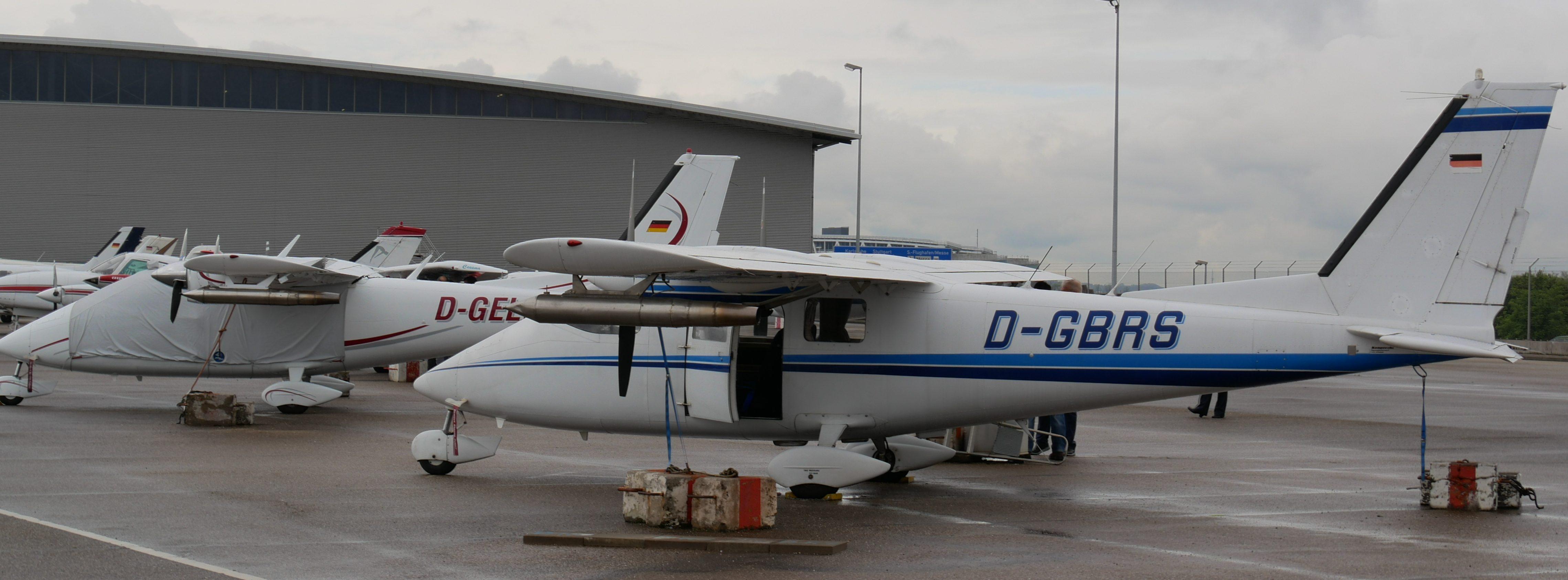 Hagelflieger am Stuttgarter Flughafen. Foto: Uwe Roth