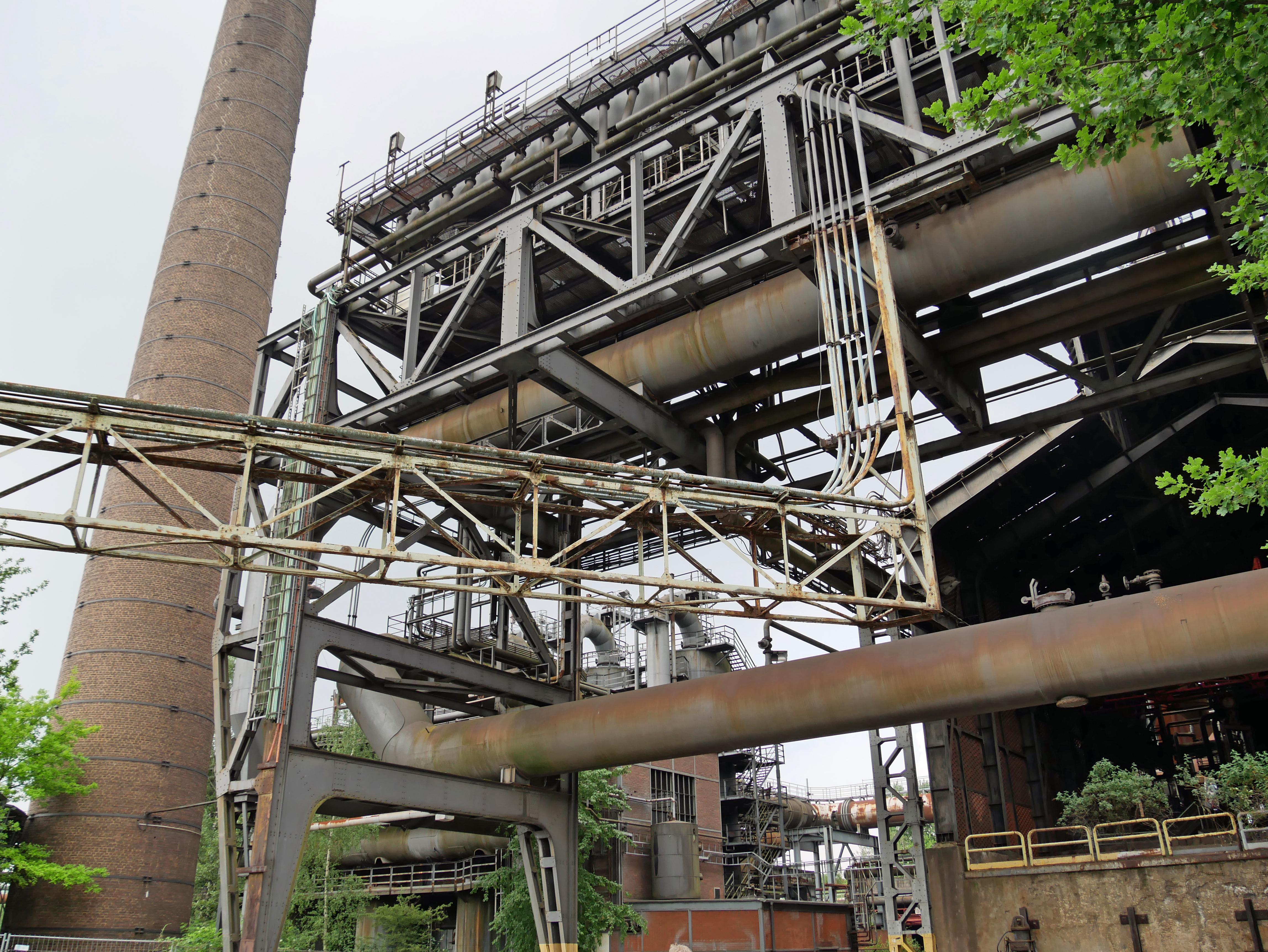 Das ehemalige Hüttenwerk ist heute Bestandteil des Landschaftsparks Duisburg-Nord. Das Bauwerk gehört zur IBA Emscher Park und ist für Besucher zur Besichtigung freigegeben. Foto: Uwe Roth
