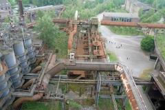 Blick vom ehemaligen Hüttenwerk, das zum Landschaftspark Duisburg-Nord gehört. Es ist für Besucher zur Besichtigung freigegeben. Foto: Uwe Roth