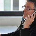 Uwe Roth - Journalist. Er schreibt für Medien und textet in Einfacher Sprache für Menschen mit Lese-Problemen und Lern-Schwierigkeiten. Foto: Wolfgang Leja
