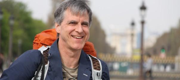 Journalist Uwe Roth. Foto: Susanne Hasel