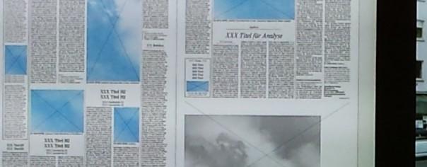Newsroom - die Tagesproduktion. Foto: Uwe Roth