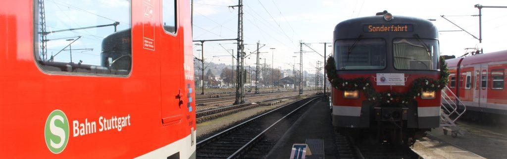 Alte und neue S-Bahn. Foto: Uwe Roth