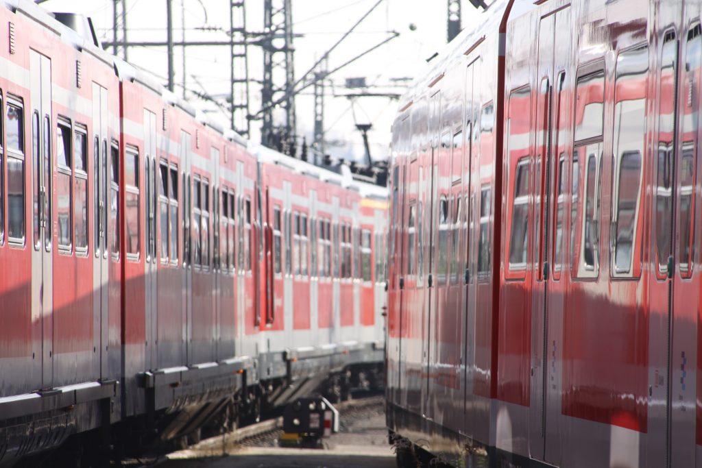 S-Bahnzüge der Region Stuttgart. Foto: Uwe Roth