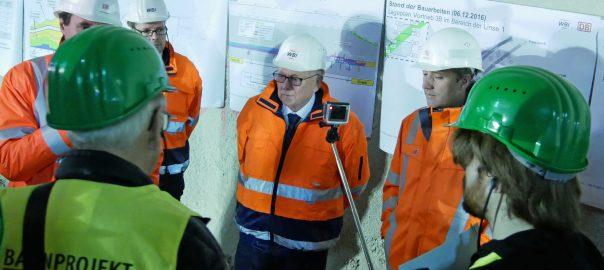 Stuttgart 21: Im Trockenbau durch das Problem-Gestein