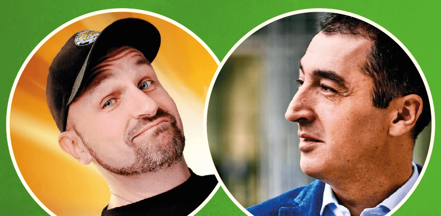 Dodokay und Cem Özdemir. Foto: Grüne bw
