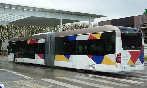 Vorbild für Ludwigsburg: Schnellbusse in Straßburg: Foto: Stadt Ludwigsburg
