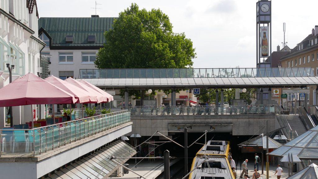Der Löwen-Markt in Stuttgart-Weilimdorf. Foto: Uwe Roth