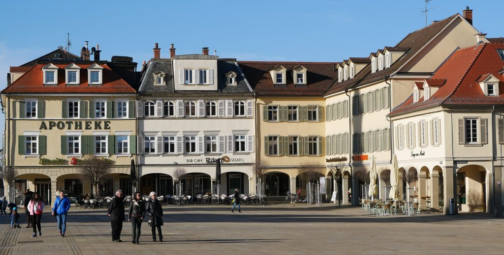 Der Ludwigsburg Marktplatz im Barockstil ist ein Kleinod. Viele Schlossbesucher verpassen es aber. Foto: Uwe Roth