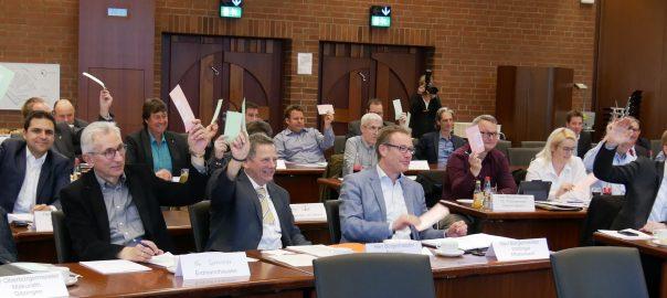 Erste Sitzung des Zweckverbands zum Ausbau des Breitbandnetzes im Landkreis Ludwigsburg. Foto: Uwe Roth