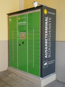 Bürger können Dokumente außerhalb der Öffnungszeiten des Rathauses abholen. Foto: Uwe Roth