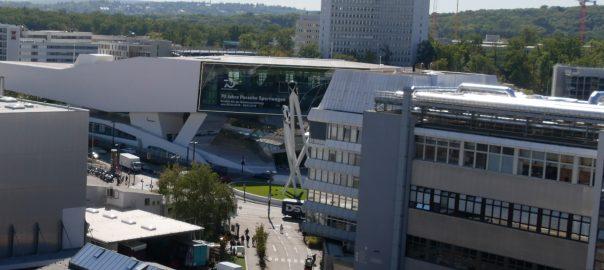 Porsche-Stammsitz in Stuttgart-Zuffenhausen. Foto: Uwe Roth