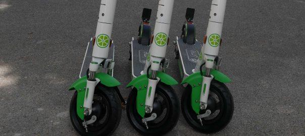 Lime ist erster Anbieter von E-Scooter in Stuttgart