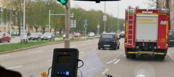 Ludwigsburg: Grüne Welle für die Feuerwehr