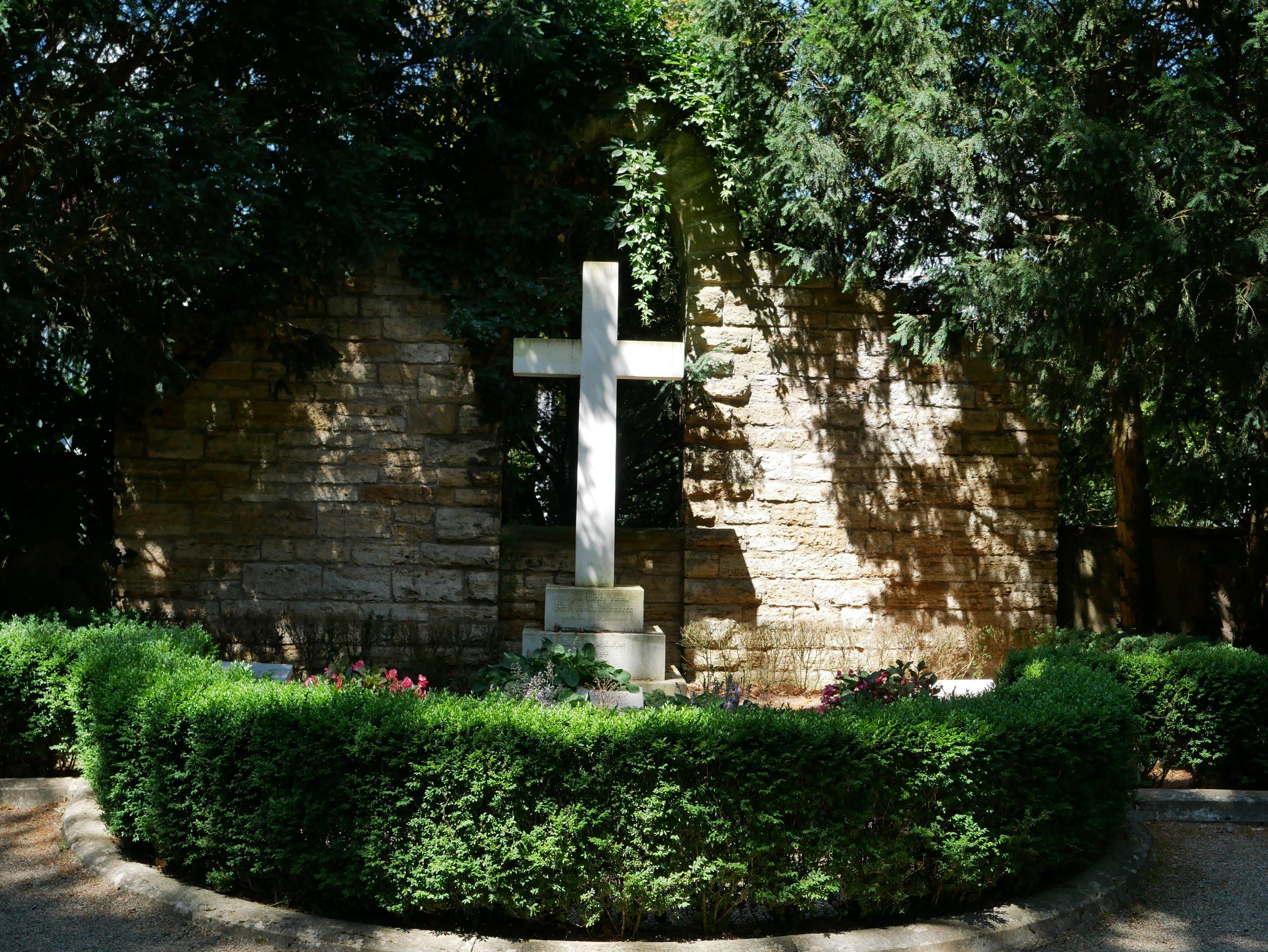 Fast vergessen: Das Grab des letzten Königs auf dem Alten Friedhof Ludwigsburg