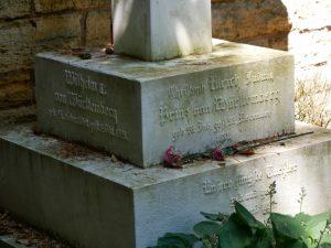 Familiengrab des letzten Königs von Württemberg auf dem Alten Friedhof in Ludwigsburg. Foto: Uwe Roth