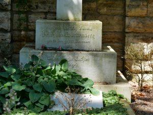 Sockel des Königgrabs Alter Friedhof Ludwigsburg. Foto: Uwe Roth